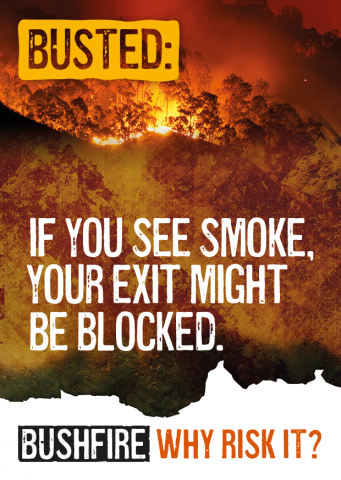 Busted: If you see smoke, your exit might be blocked.